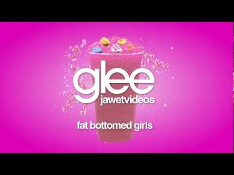 Glee Cast - Fat Bottomed Girls (karaoke version)