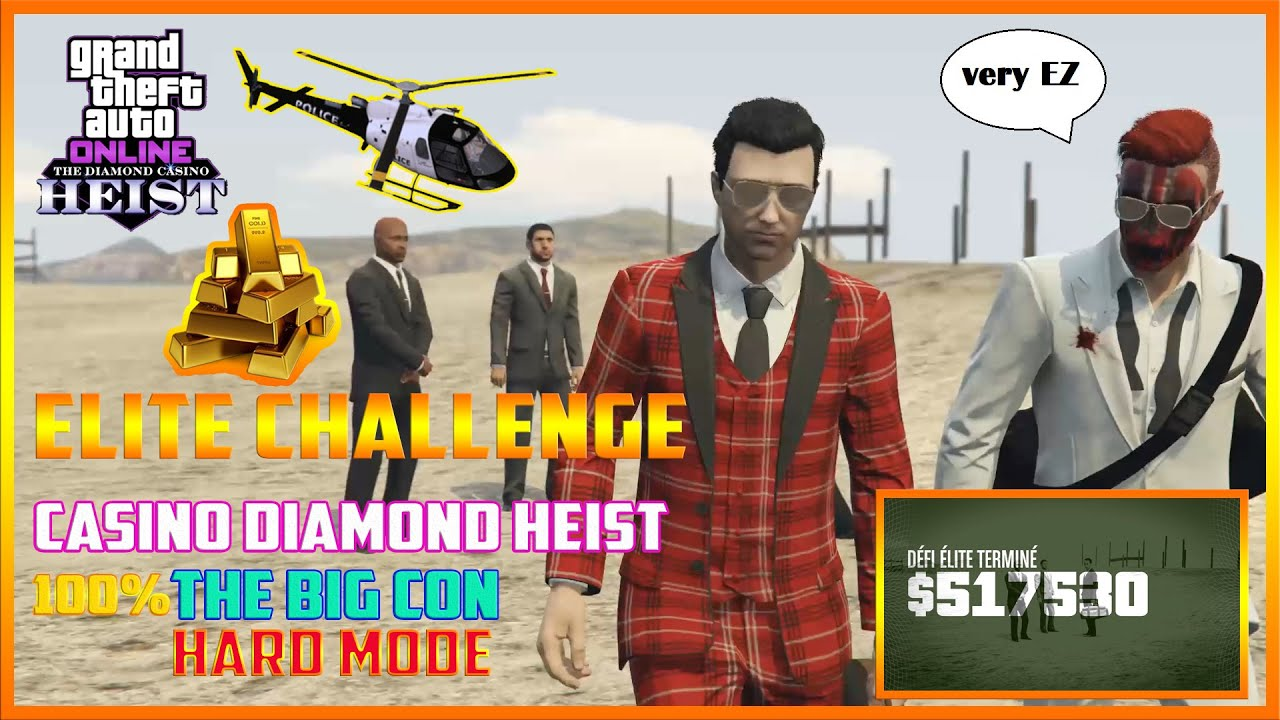 Casino Heist Elite Challenge Reward