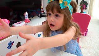 Eva y aventuras de juguete bebés para niños