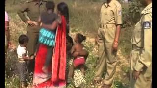 Bargarh ACC Holcim attrocity on landloosers - Bargarh