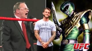 UFC Fight: CM Punk vs. Green Ranger? [Jim Cornette Rants]