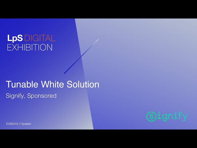 Signify - Tunable White Solution