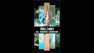 Yugioh Duelo de Enlaces - DM GX 5Ds Todos Invocar Animación (4K)