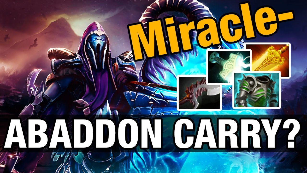 Miracle Plays Abaddon Carry Dota