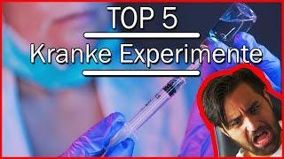 Top 5 der KRANKESTEN Wissenschaftlichen Experimente