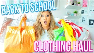 Back To School Haul 2017!! Forever 21, Urban Outfitters, Wildfox + More!