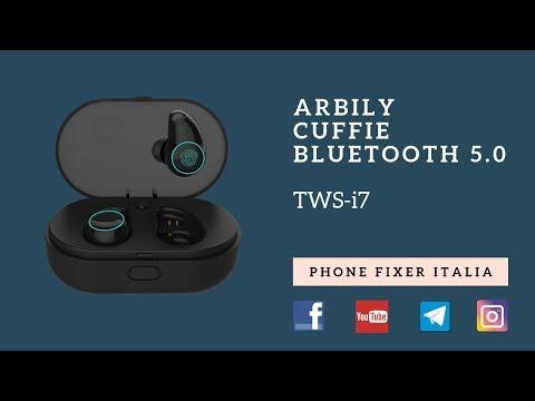 Arbily Cuffie Bluetooth 5.0, TWS-i7. Recensione By PHONE FIXER ITALIA