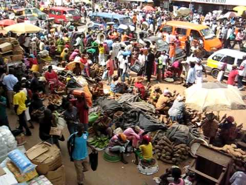 Kejetia Market, Kumasi, Ghana
