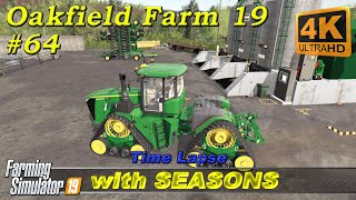 Animal care, buying horses and sowing canola | Oakfield Farm with Seasons | FS19 TimeLapse #64 | 4K