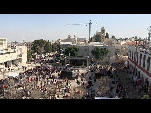 Bethlehem: Christmas in the birthplace of Christianity