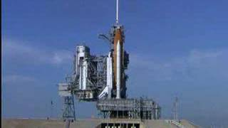 STS-122 Shuttle Launch Spider