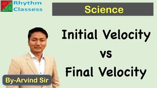 Difference between Initial Vel๐city and Final Velocity by Rhythm Classes