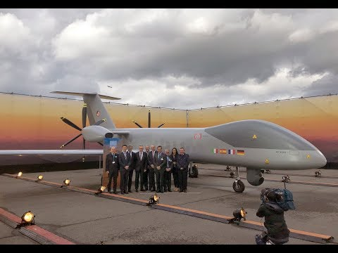 Airbus, Dassault Aviation and Leonardo: the first fully European MALE programme.