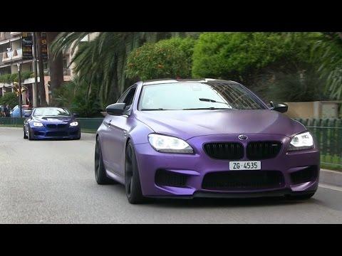 G-POWER BMW M6 AND BMW M6 CONVERTIBLE TERRORIZE MONACO!
