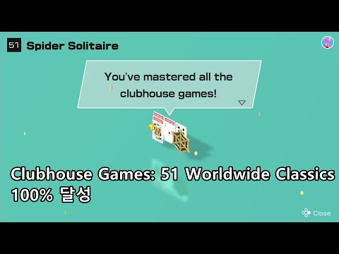Clubhouse Games: 51 Worldwide Classics - Spider Solitaire