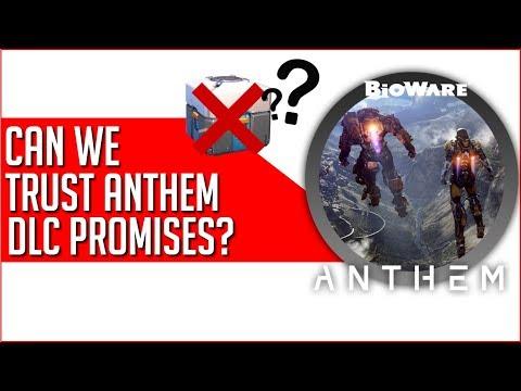 Bioware Teases Anthem DLC Approach