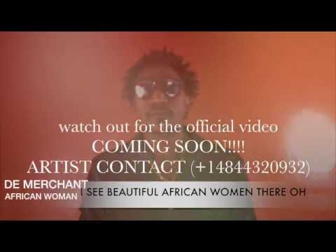 African woman by De Merchant liberian  music