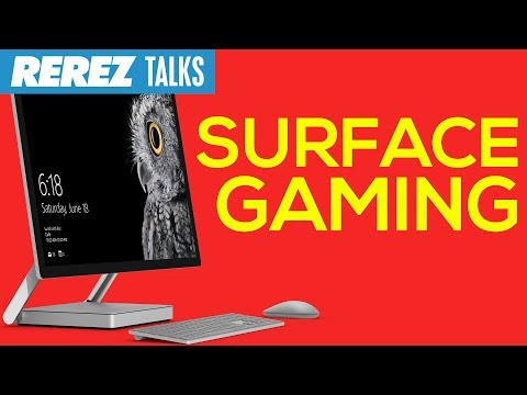 download Hardcore Gaming on Microsoft Surface Studio - Rerez Talks