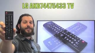 LG AKB74475433 TV Remote Control - www.ReplacementRemotes.com