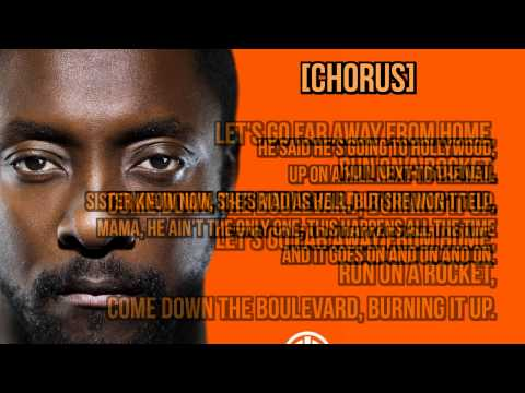 Will.i.am ft NICOLE SCHERZINGER - Far Away From Home LYRICS