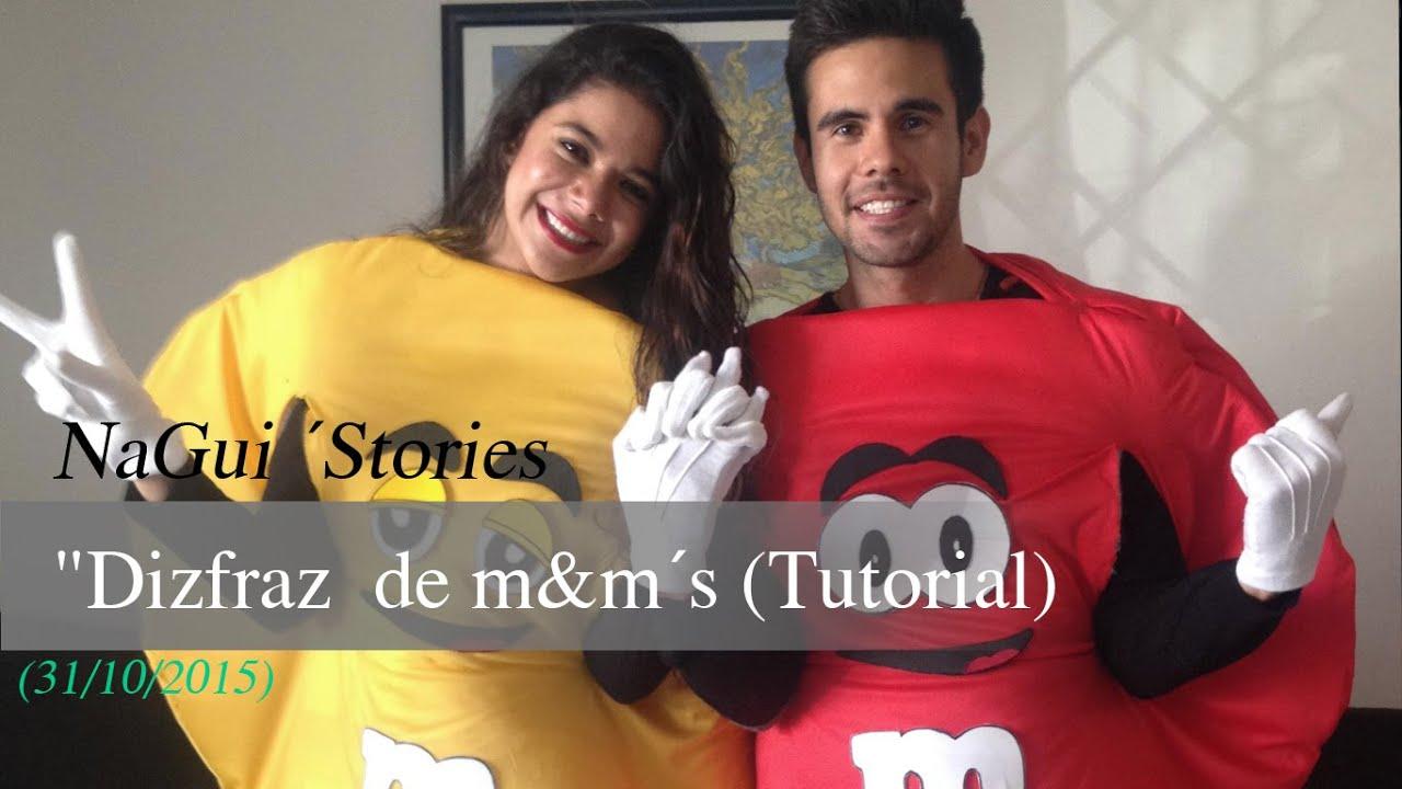 Como hacer un disfraz de m m tutorial youtube for Como aser un criadero de mojarras