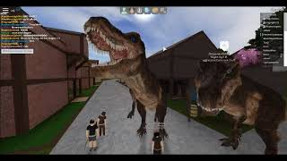 ROBLOX (Shard Seekers) Claiming the Adult T-Rex!!