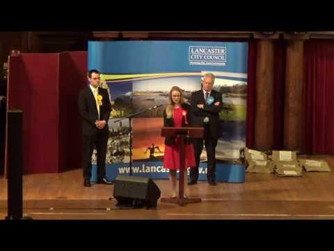 Lancaster & Fleetwood - General Election Declaration
