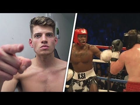 Calling Out KSI. – Reacting to KSI vs Joe Weller Boxing Fight