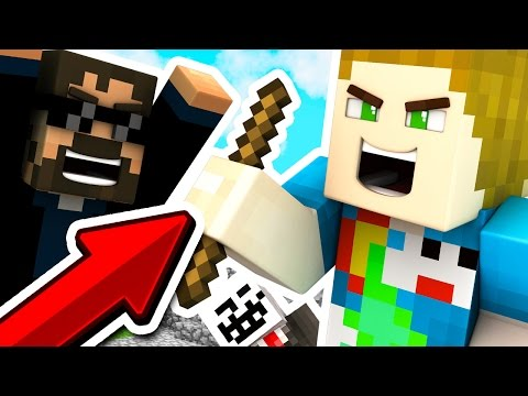THE *STICK* ONLY CHALLENGE!! Bed Wars on HyPixel W/ SSundee & Ambrew