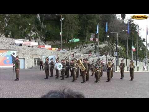 2013 - Gemona - Fanfara Brigata Alpina Julia - alpini 07 - Inno di Mameli