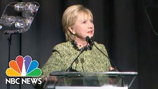 Hillary Clinton To Trump Administration: America Cannot Close Doors To Syrian Babies | NBC News