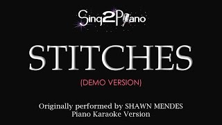 Stitches (Piano karaoke demo) Shawn Mendes
