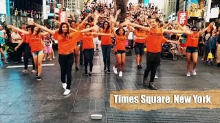 Rustom Fever | Flashmob | New York & London