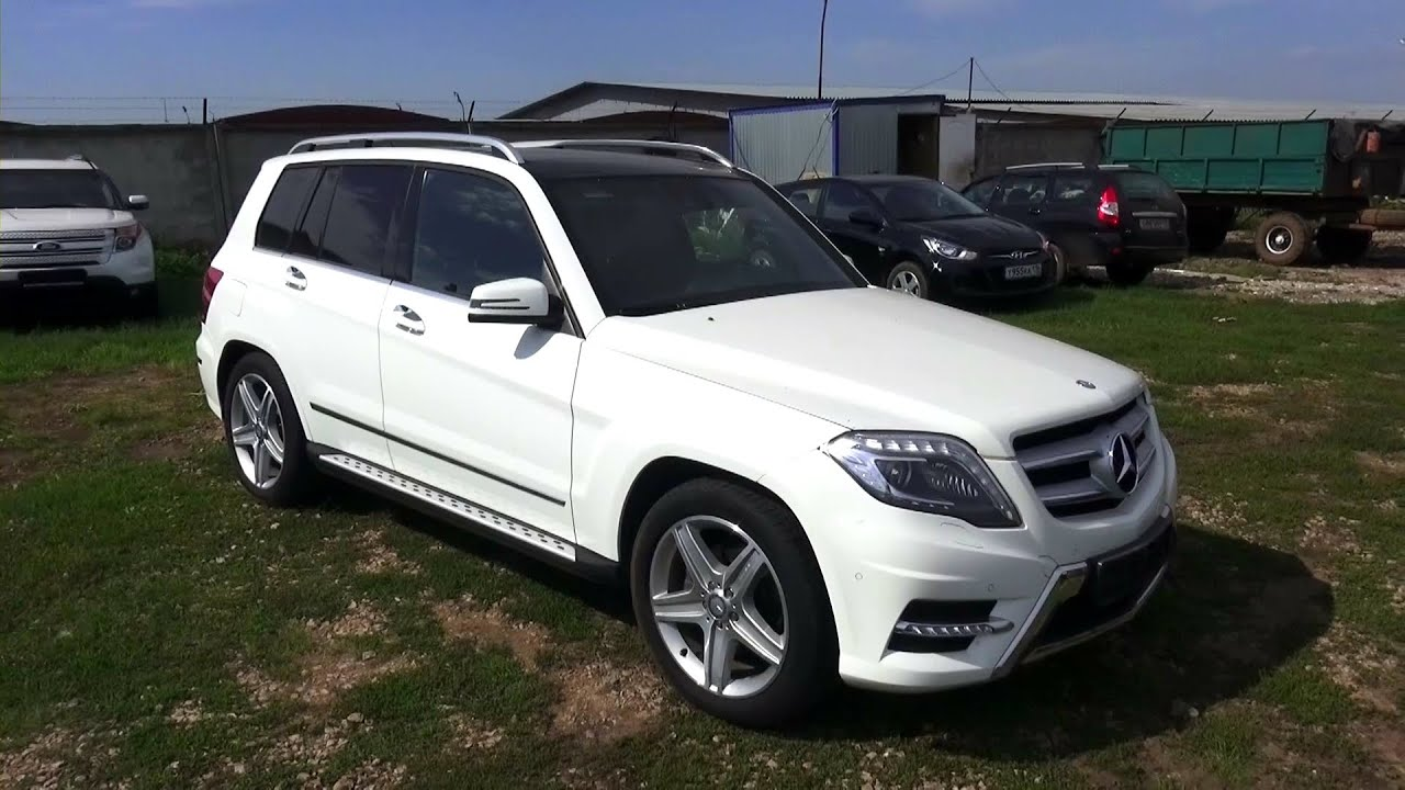 2012 mercedes benz glk 300 4matic x204 start up engine for Mercedes benz glk 2012