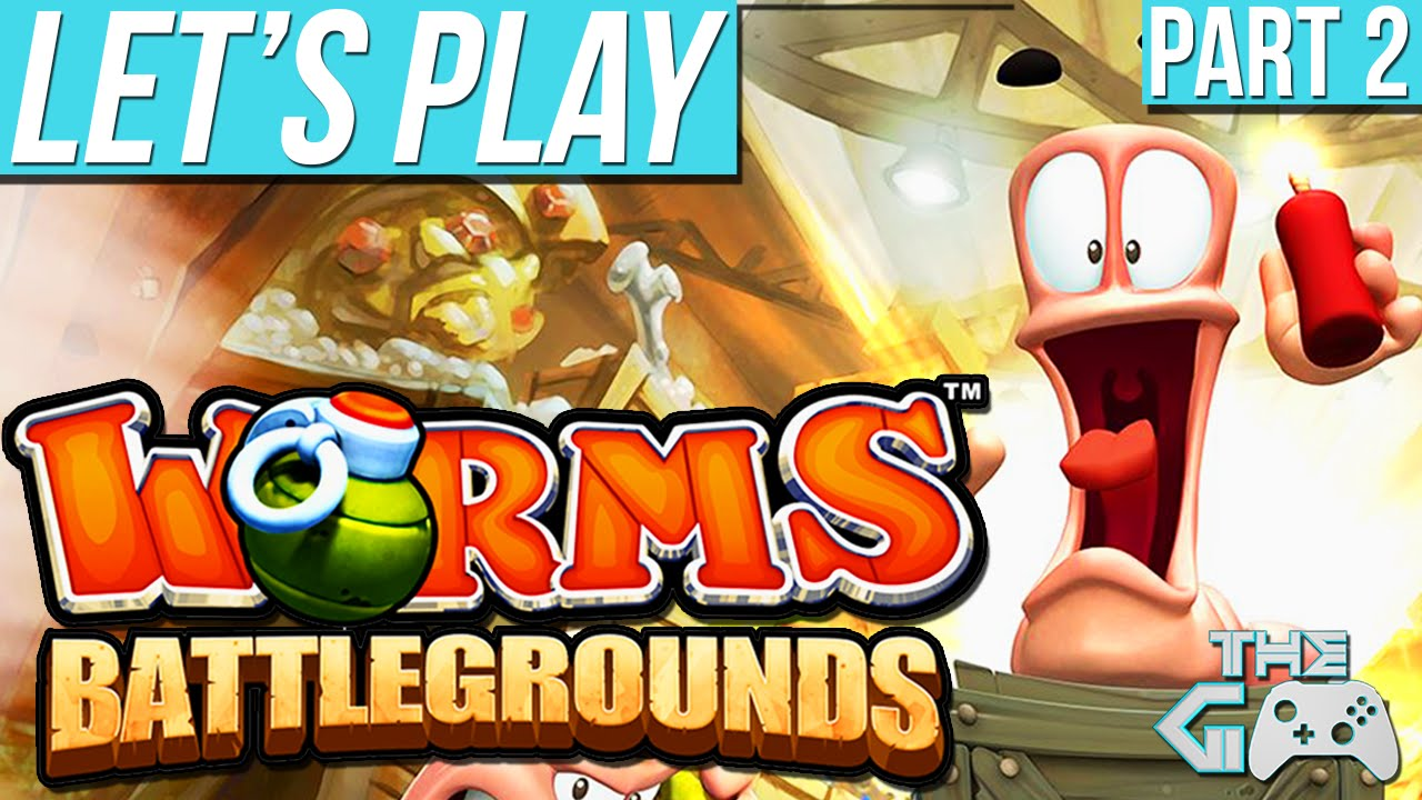 lets play worms battlegrounds part 4