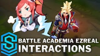 Battle Academia Ezreal Special Interactions