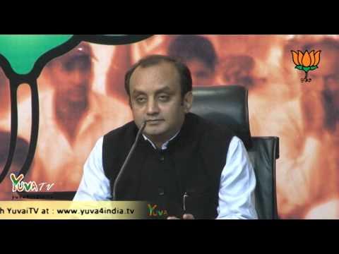 Dr. Sudhanshu Trivedi on protest against PM at Waqf meeting, Vigyan Bhavan