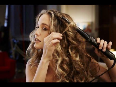 Как пользоваться конусной плойкой для волос видео