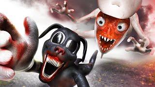 Bridge Worm vs Cartoon Dog