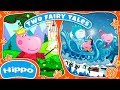 Hippo 🌼 Two fairy tales 🌼 Princess and dragon & The Snow Queen 🌼 Cartoon for children