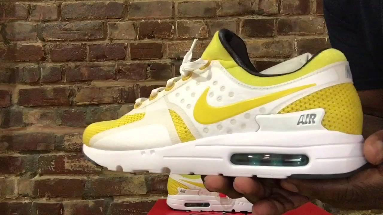 new concept d032b d5365 Nike Air Max Zero 2016 (Review/Unboxing)