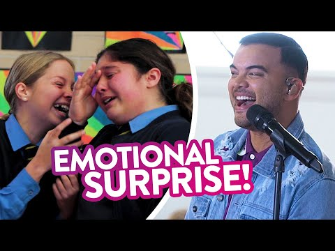 Guy Sebastian&39;s EMOTIONAL School Choir SURPRISE