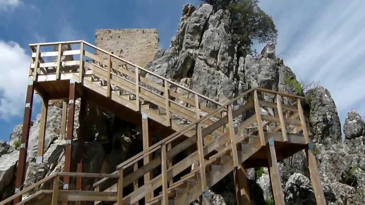 CASTILLO DE LA IRUELA. - CASTLE OF THE IRUELA. SPAIN - YouTube