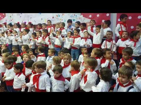 Flamenco en las aulas del colegio Navas de Tolosa