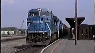 A Look Back Railroading in Utica, NY Part 13  1991