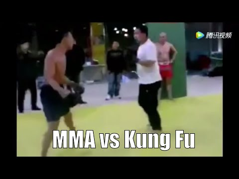 Kung Fu Master Challenges MMA Fighter In China - Great Lessons