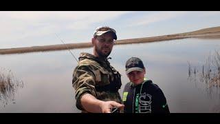 Рыбалка разведка на реке Вот это находка
