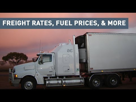Freight Rates & Trucking Industry News - August 2018