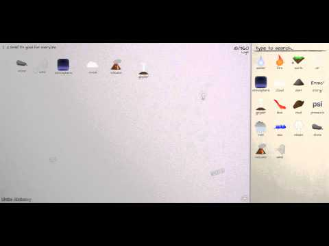 Little Alchemy Cheats - Walkthrough 360 Elements Part 2