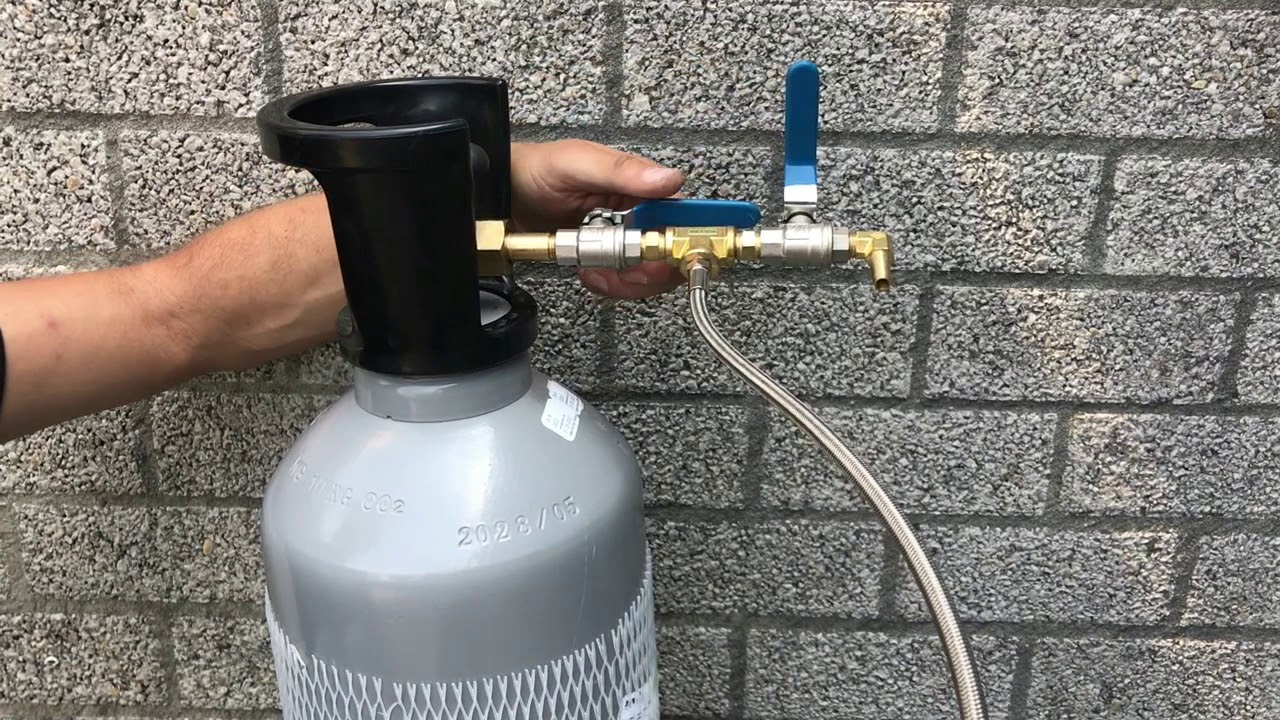 Refill CO2 tanks T-shirt gun Showeffects